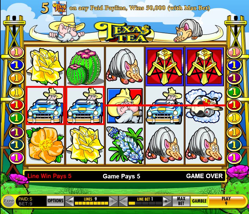 slots casino texas tea