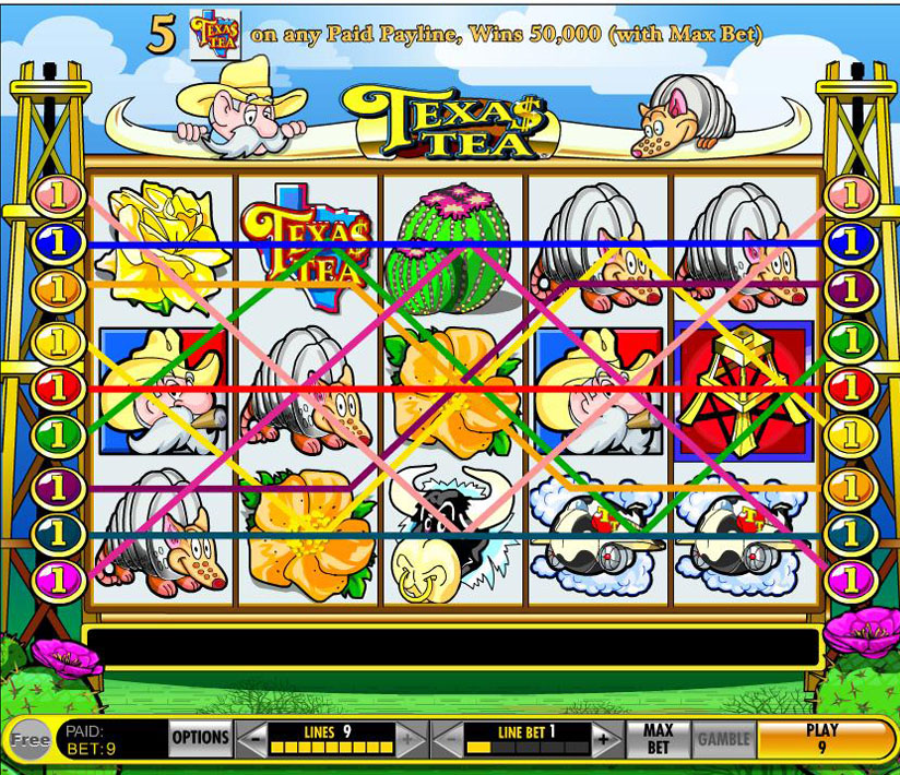 Texas Tea Slot Machine App