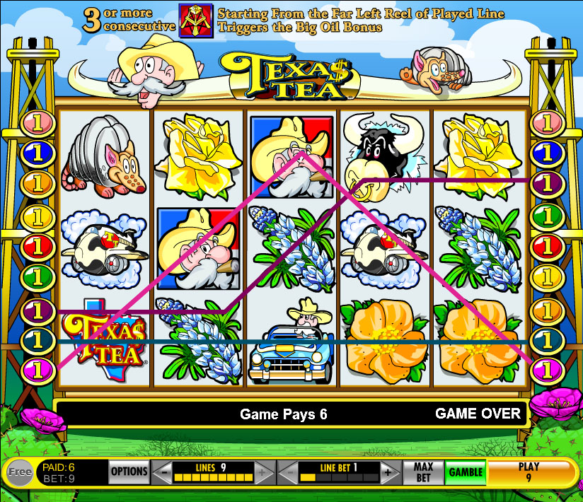 Texas Tea Slots Play Online for Free No Download
